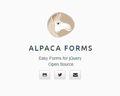 Alpaca - JSON Forms for jQuery and Bootstrap