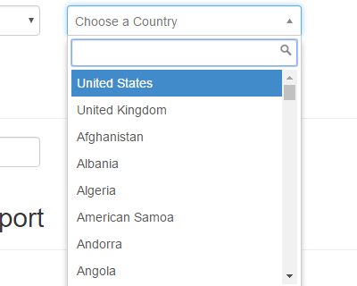 Bootstrap Chosen : AutoComplete Select Box for Bootstrap