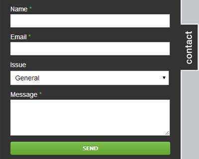 Contactable jQuery plugin