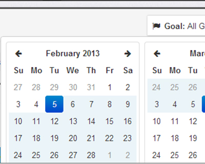 bootstrap datepicker range