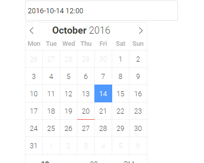 flatpickr : jQuery Lightweight & Powerful DateTime Picker