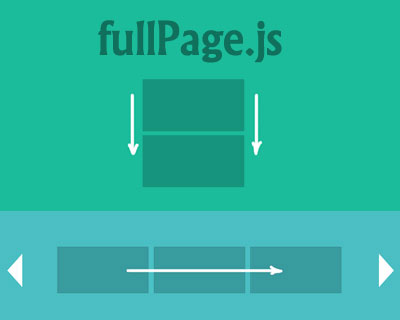 FullPage Js jQuery Plugin For Fullscreen Scrolling Websites - HTML Lion