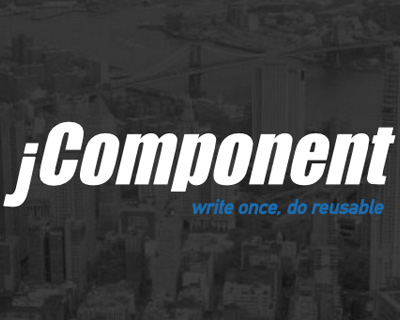 jQuery reusable component library