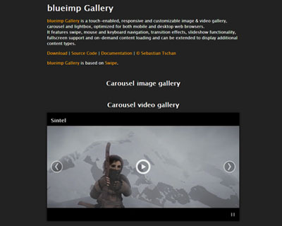 blueimp Gallery