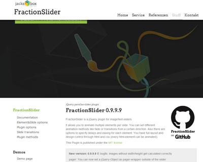 Fraction Slider