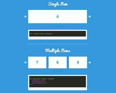 Best jQuery Slider Plugins - HTML Lion