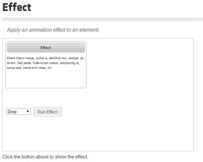 jQuery UI Effects Core