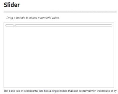 jQuery UI Slider