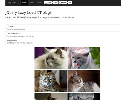 Lazy Load XT for jQuery