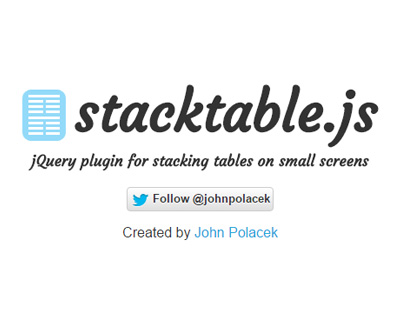 stacktable.js