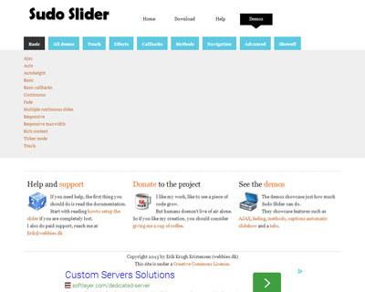 SudoSlider – Content slider