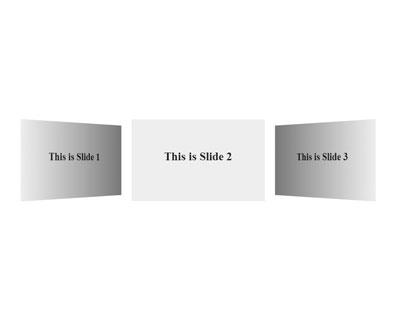 Swiper 3D Flow plugin for Swiper