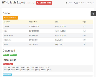 tableExport.jquery.plugin