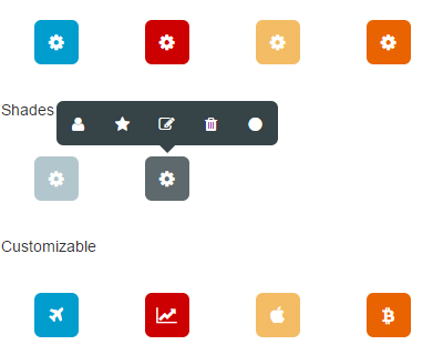 Toolbar.js : jQuery plugin that creates tooltip style toolbars