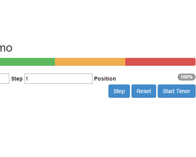 Twitter Bootstrap Multi-Color Progress Bar – a jQuery Plugin