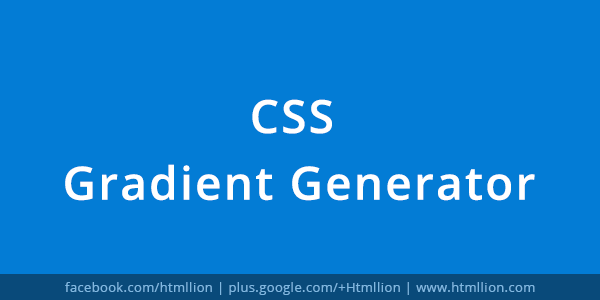 Css Gradient Generator Generate Css Gradients Background